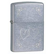 Heart to Heart Zippo Lighter