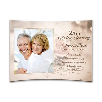 Personalized 25th Wedding Anniversary Gifts Photo Frames More