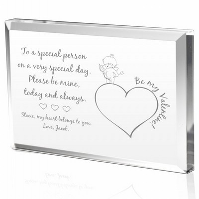 Personalized Special Cupid Valentines Day Gift Plaque