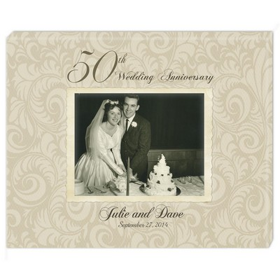 Personalized 50th Wedding Anniversary Gifts 50 Year Gold Plates More
