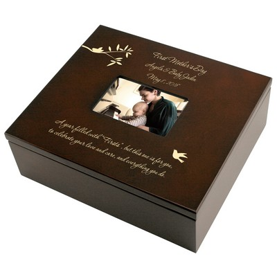 First Mothers Day Personalized Keepsake Box