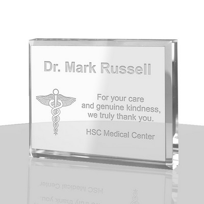 Personalized Doctor Thank You Plaque