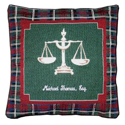 Lawyer Tapestry Pillow