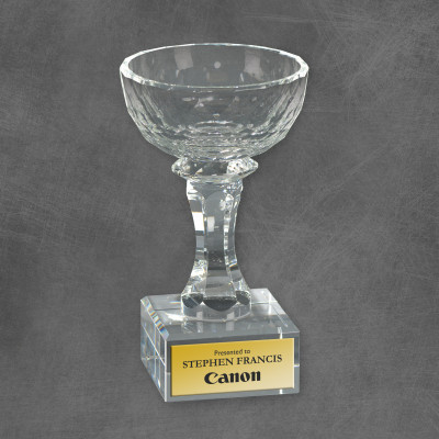 Aspirations Crystal Recognition Bowl