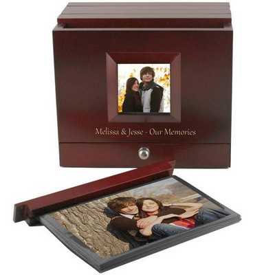 Boxed Photo Album with Front Frame