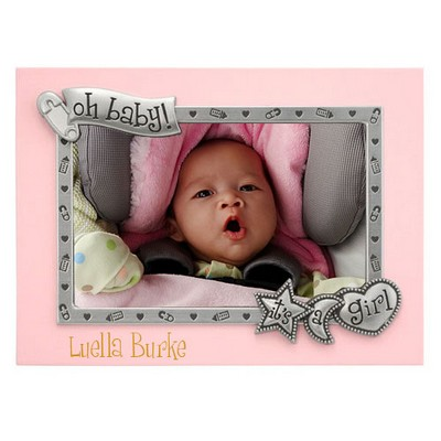 Oh Baby Its a Girl Photo Frame