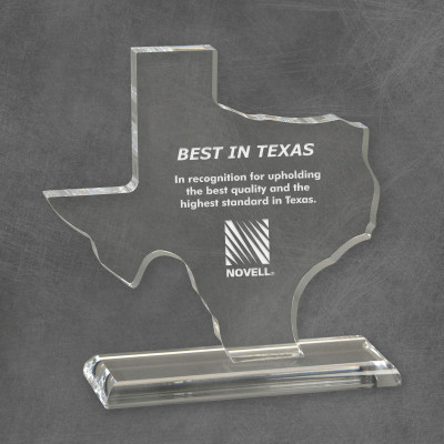 Corporate Best in Texas Acrylic Award