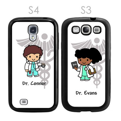 Custom Doctor Character Galaxy S3-S4 Case