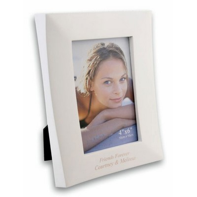 White  Wooden Photo Frame 4 x 6