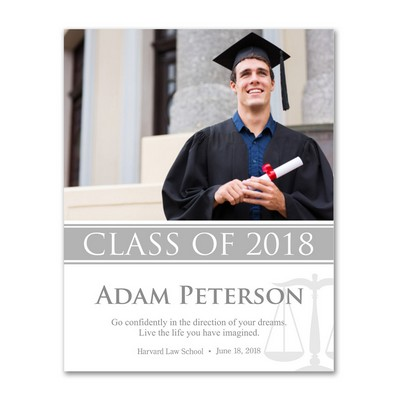 Personalized Law School Graduation 11x14 Photo Print