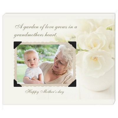 Grandmothers Heart Custom Wall Canvas