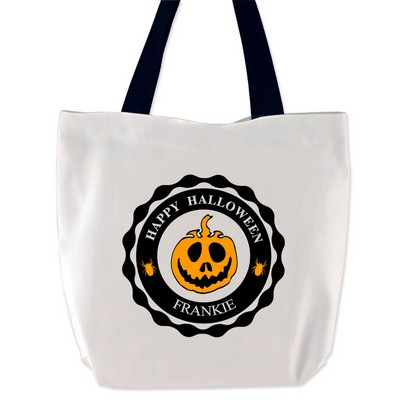 Happy Halloween Personalized Treat Bag