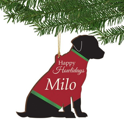 Happy Howlidays Personalized Dog Ornament