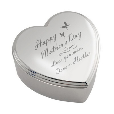 Heart Keepsake Box for Mom