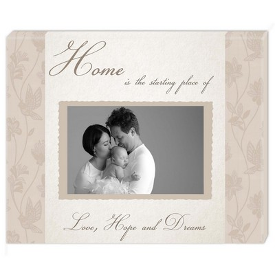 Home Sentiments Family Photo Wall Canvas