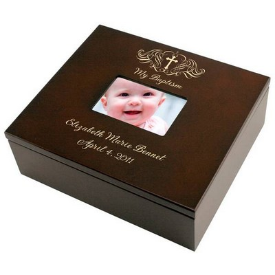 Holy Cross Baptism Keepsake Box