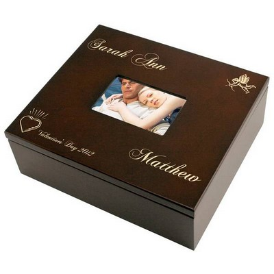 Romantic Valentines Day Personalized Treasures Keepsake Box
