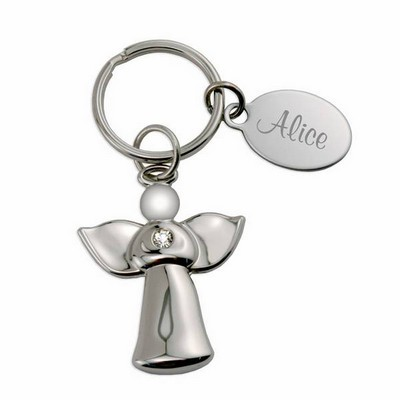 Guardian Angel Personalized Key Chain