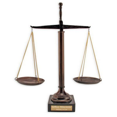 Personalized Lawyer Gifts | Scales of Justice Gifts