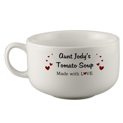 Made with Love Personalized Soup Bowl