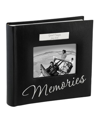 Memories Black Personalized Photo Album