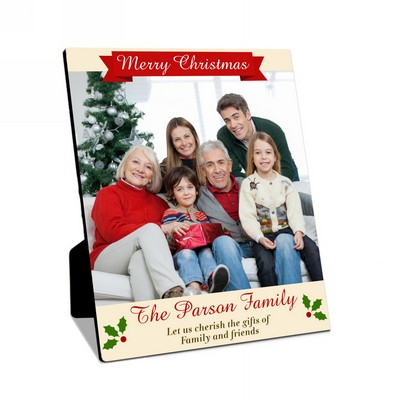 Merry Christmas Family Photo Panel