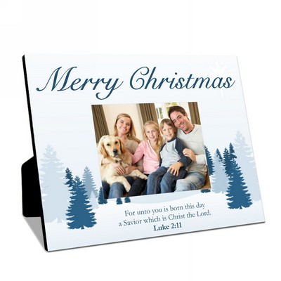 Merry Christmas Personalized Table-top Photo Panel