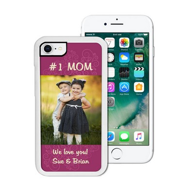 Number One Mom Personalized iPhone Case