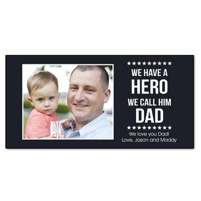 Our Hero Personalized Wall Panel