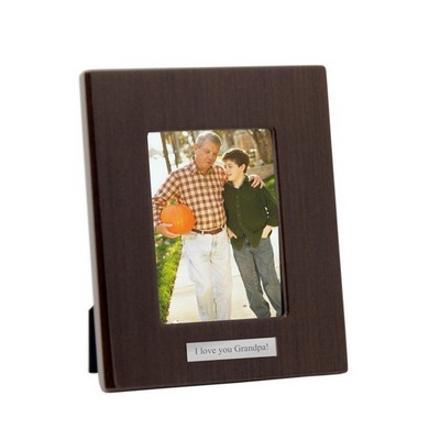 4 x 6 Wood Piano Finish Picture frame