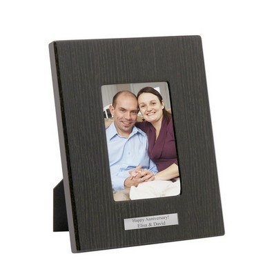 5 x 7 Black Wood Piano Finish Picture frame