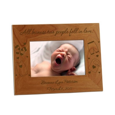 Because We Fell In Love Baby 4x6 Photo Frame