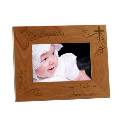 My Baptism 4x6 Photo Frame