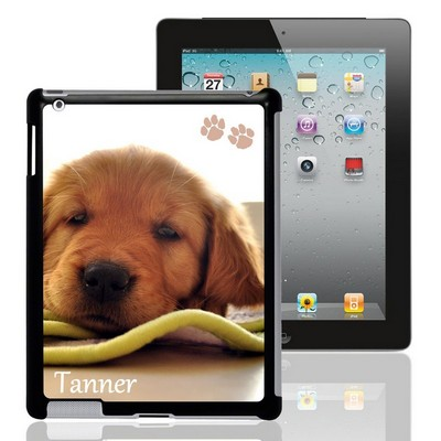 Paw Prints Personalized Pet Photo iPad Case