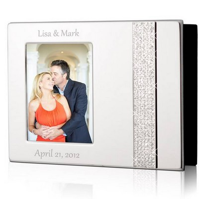 Personalized Picture Frames & Photo Albums for Her, Silver, Glass ...
