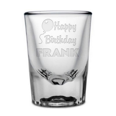 Personalized Birthday Shot Glass