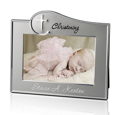 Personalized Christening 4x6 Picture Frame