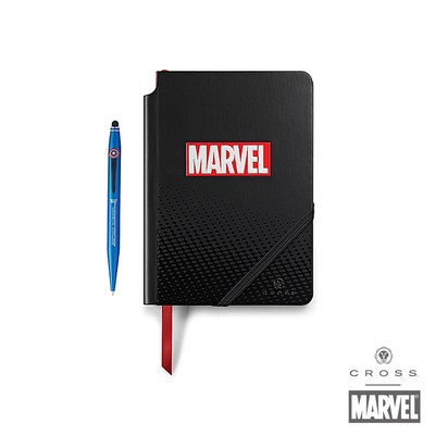 Personalized Cross Marvel™ Captain America Journal Gift Set