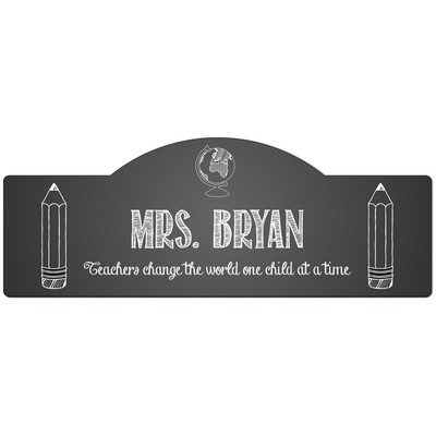 Personalized Door Sign for Teachers