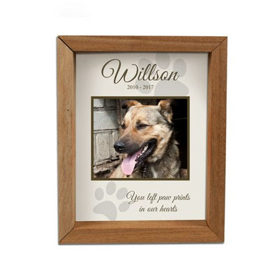 Personalized Photo Framed Pet Memorial Shadow Box