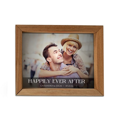 Personalized Happily Ever After Photo Shadow Box