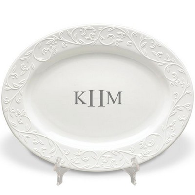 Personalized Lenox Ceramic Oval Platter
