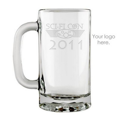 Personalized Logo Glass Beer Mug
