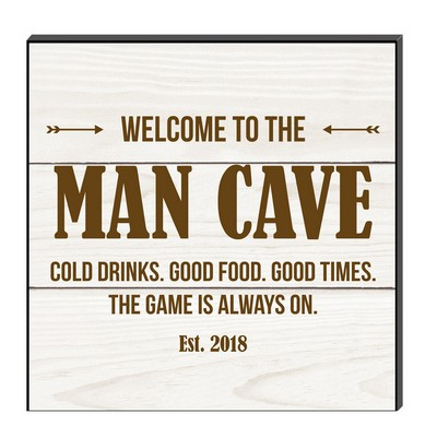 Personalized Man Cave Wall Panel