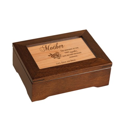 Personalized Mothers Musical Keepsake Box