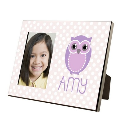 Personalized Owl Picture Frame for Girls