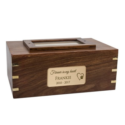 Personalized Pet Cremation Urn With Photo