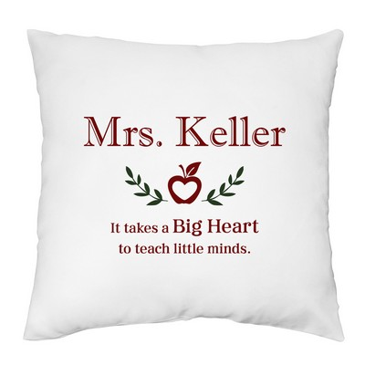 Personalized Pillow Case for Teachers