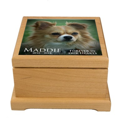 Personalized Photo Memorial Pet Urn