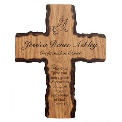 Personalized Religious Barky Wall Cross